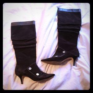 Michael Kors Boots 8 1/2 M MK with zipper